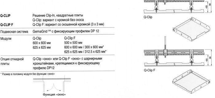 схема_ORCAL_Clip-IN_армстронг.