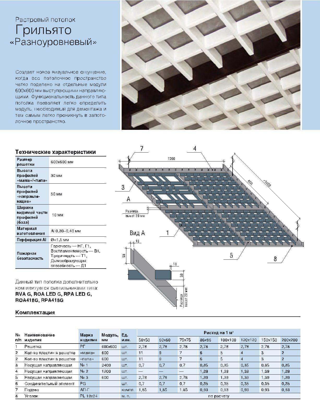 Потолок грильято: устройство, цена за м, монтаж, фото