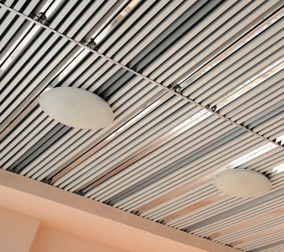 Реечный потолок кубообразного дизайна цена Американские подвесные реечные потолки «USA CG»